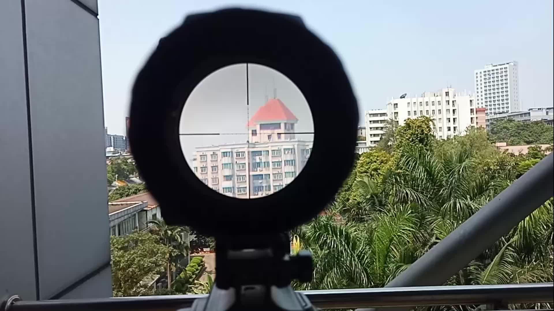 4-16X56 लाख डॉट ग्लास Etched लजीला व्यक्ति पक्ष पहिया लंबन समायोजन Turrets रीसेट hd उच्च रेंज राइफल scopes