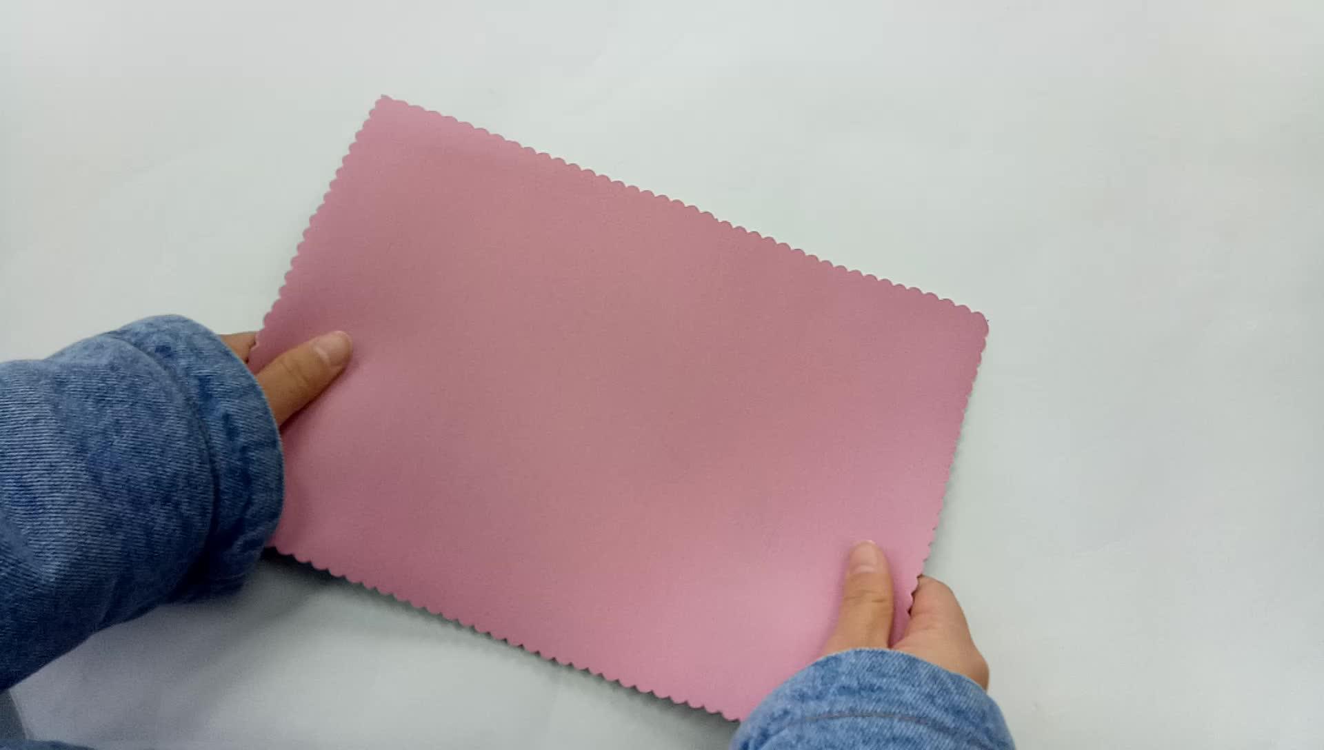 Jianbo salida de fábrica de 2mm de espesor tela de caucho de neopreno precio