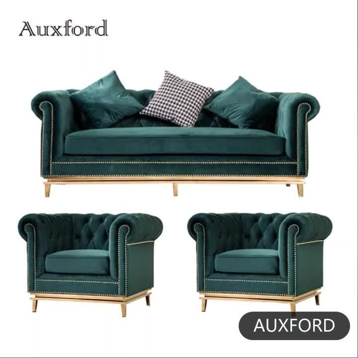 Sofá moderno de diseño americano muebles antiguos transversal tela sofás conjuntos de lujo