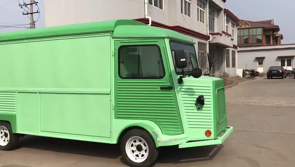 Çekilebilir gıda karavanı römork mobil yiyecek arabası satılık