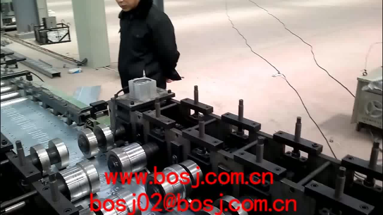 Stainless Steel Good Management Cable Tray Roll Forming Machine