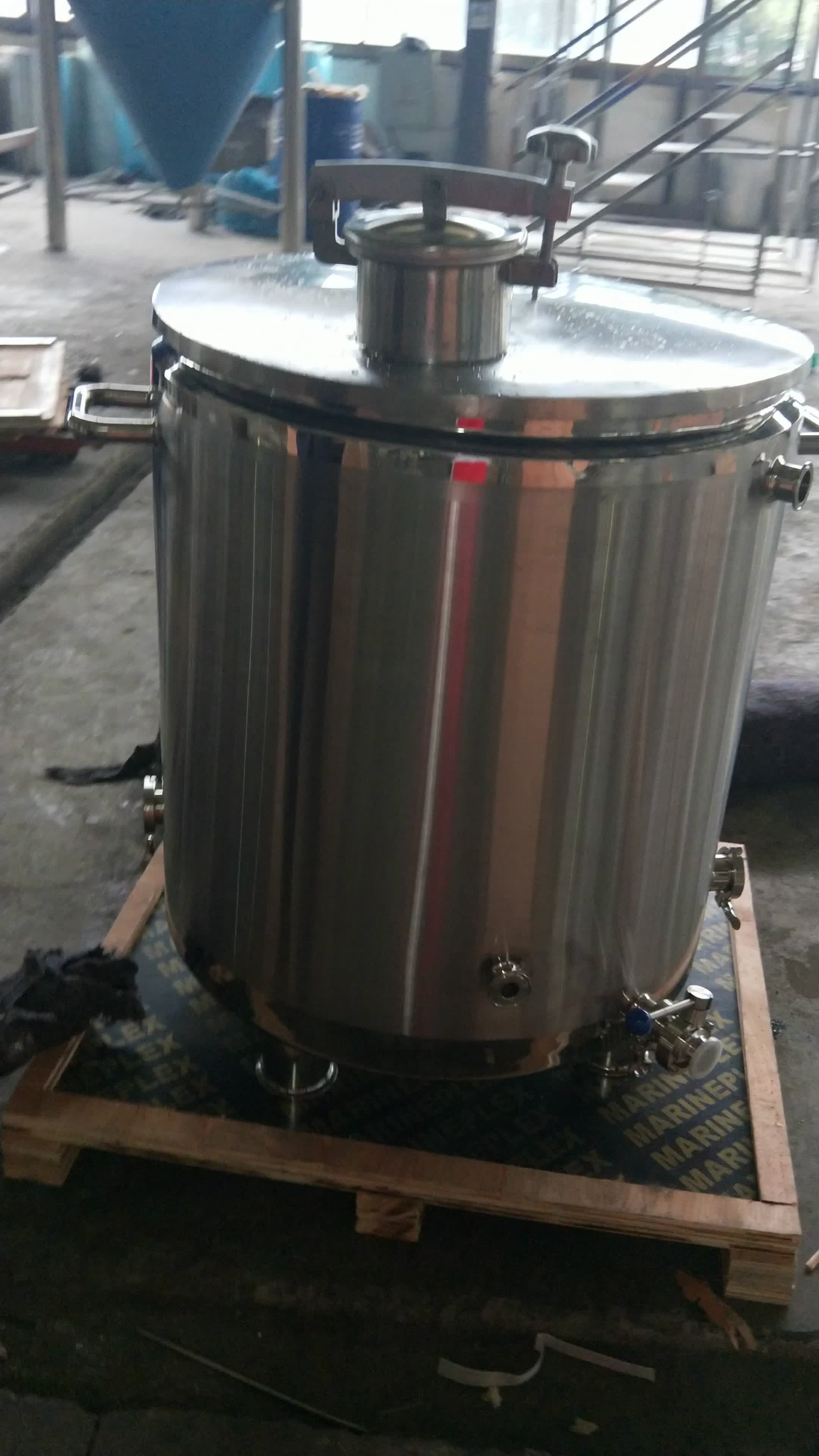 KUNBO 200 Liter Stainless Steel Beer Brewing System Brewhouse Equipment Tank