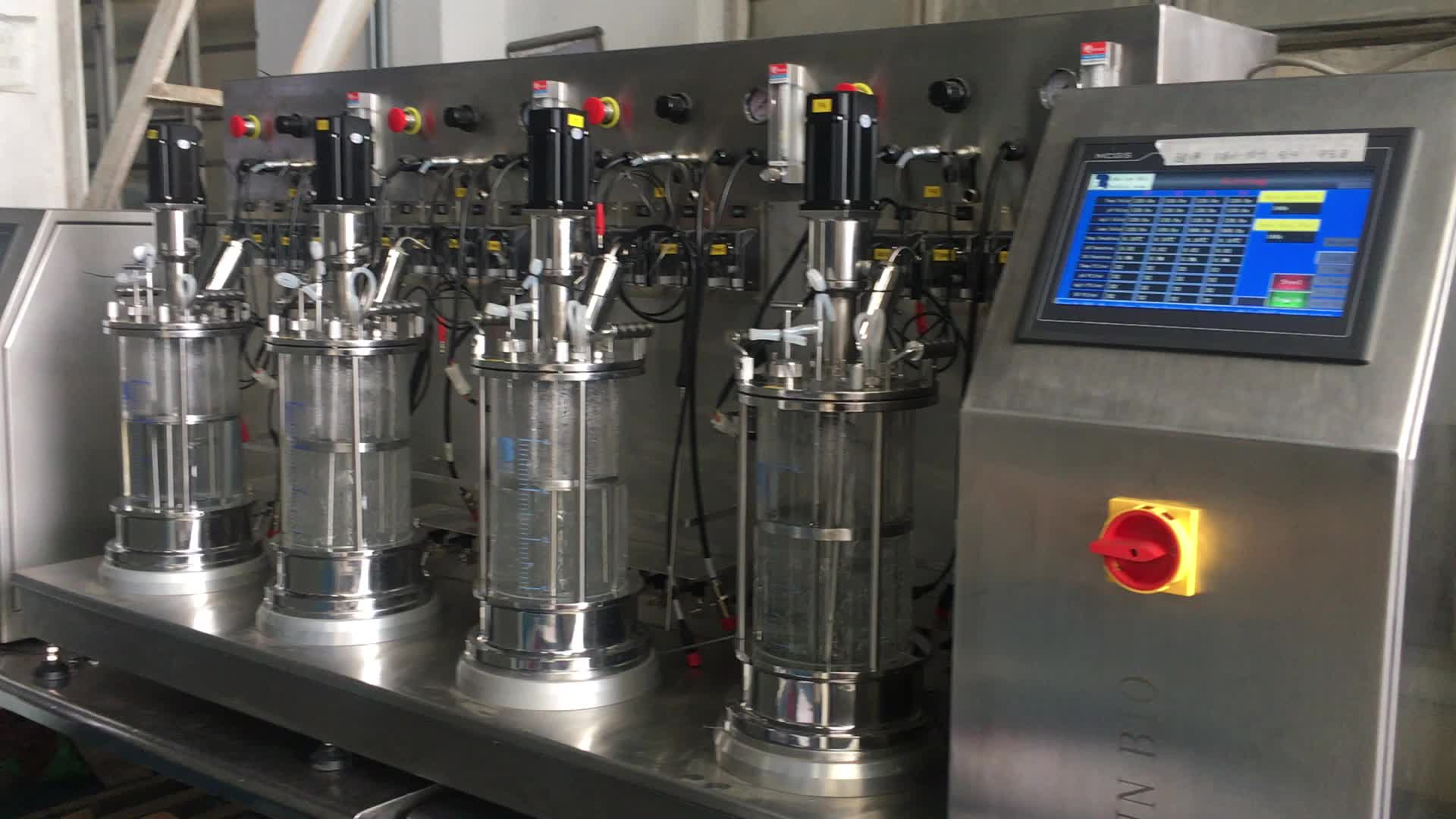 Mini di vetro bioreattore a, carbonatazione burp fermentatore conico, facile da fermentatore faq
