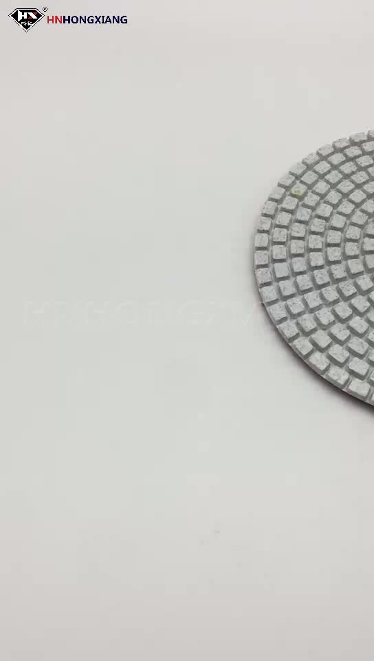 3 Step Marble Concrete Floor Diamond Polishing Pad