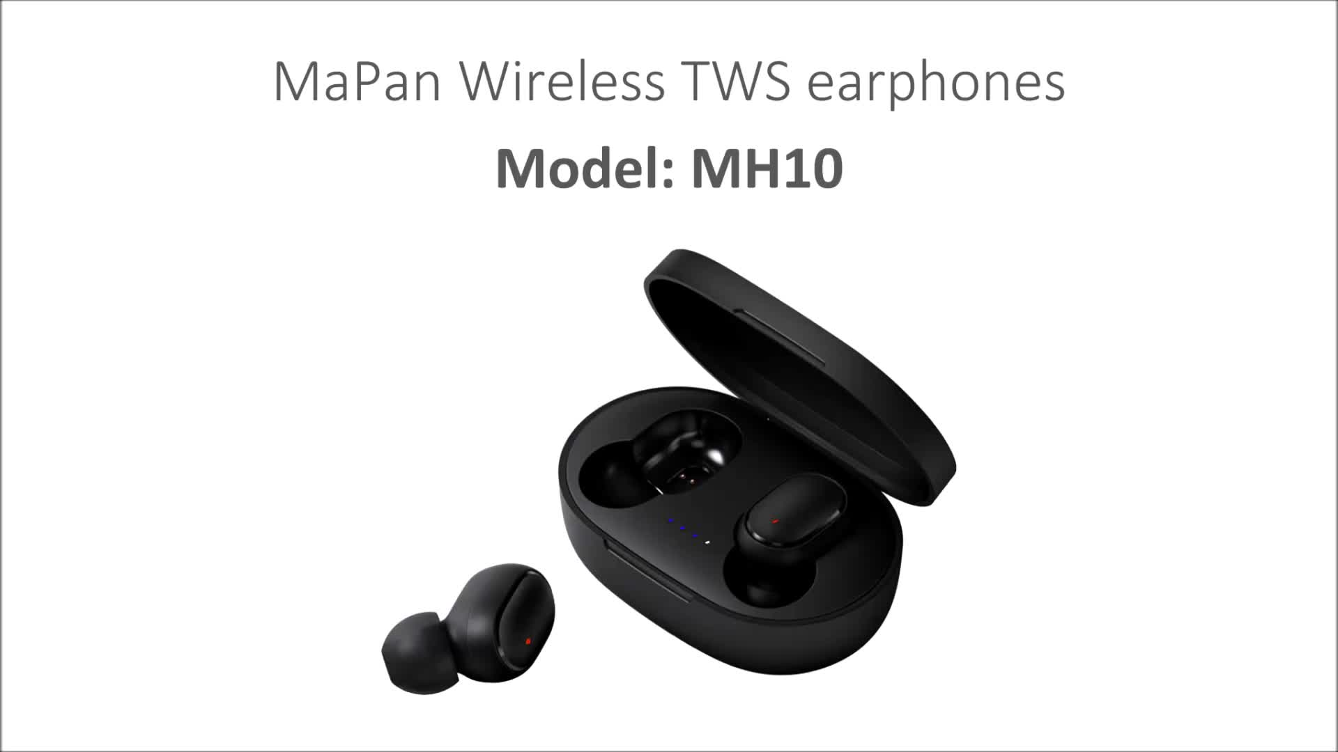 Gratis Pengiriman Mapan Headset Bluetooth, Tws HI FI Wireless Stereo Bisnis Handfree Juga Earphone