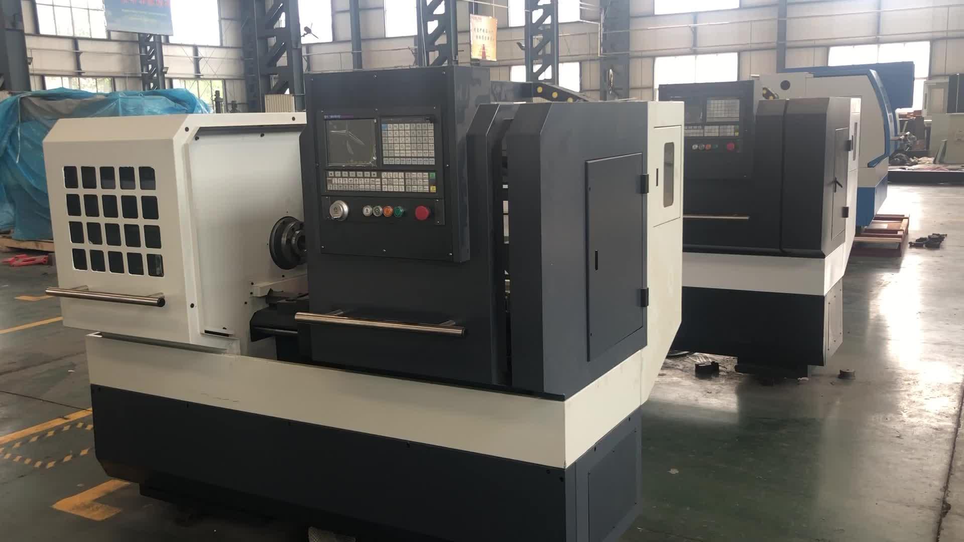 CNC draaibank fanuc CK6136 mini cnc draaibank machine