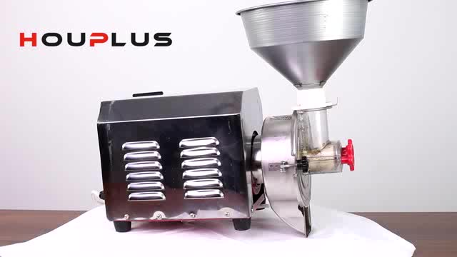 Fully Automatic Cocoa Bean Grinding And Nut Paste Grinder Making Machine