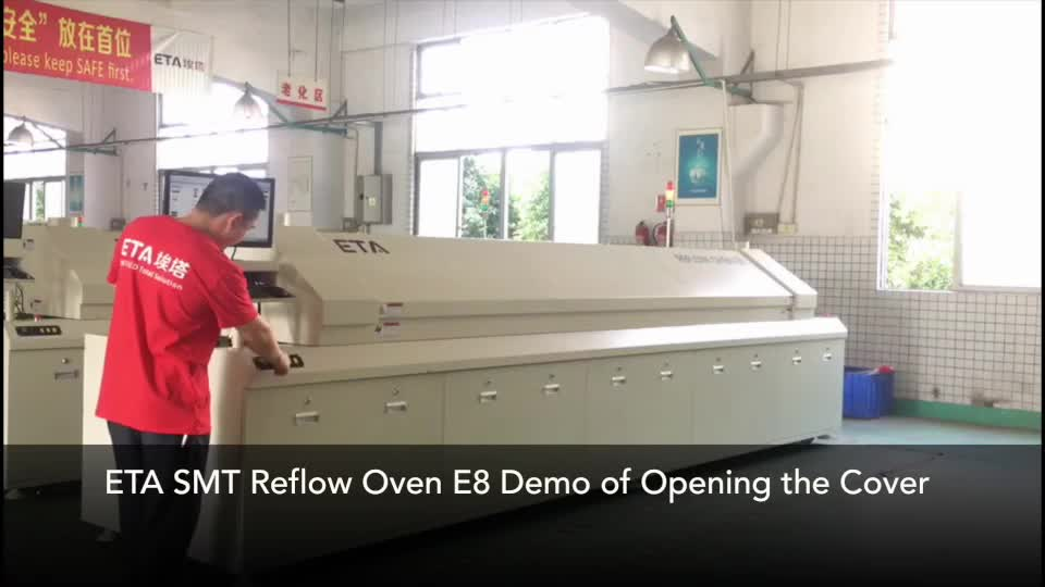 Factory Price Reflow Oven for LED Power Supply ETA A800