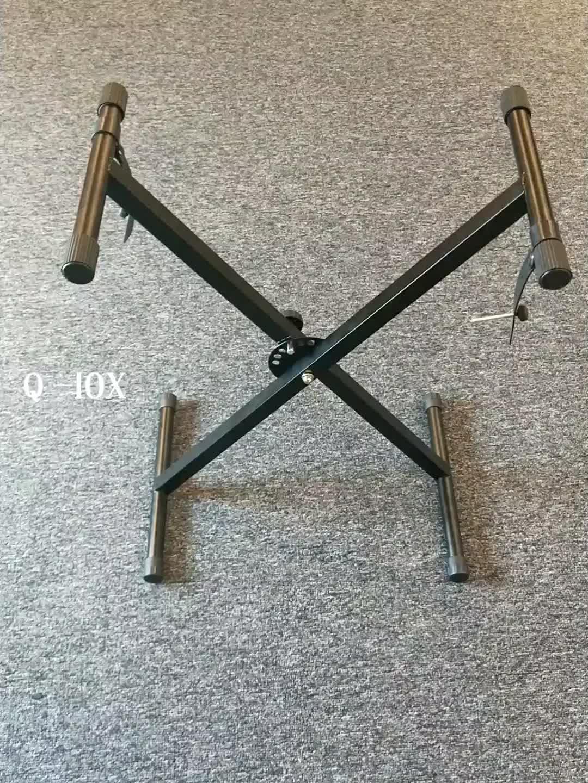 Q-10X Ajustável x 61 teclado chave piano elétrico com suporte riser