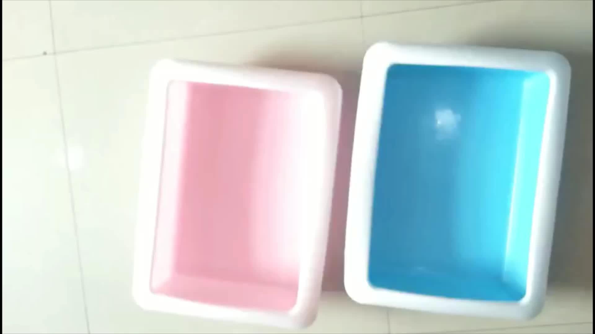 PP Material impermeable gato baño impermeable titular de papel higiénico con cubierta