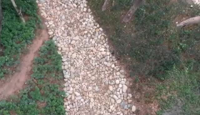 Garden Road Natural Flat River Rock Stone Pebble Pavers