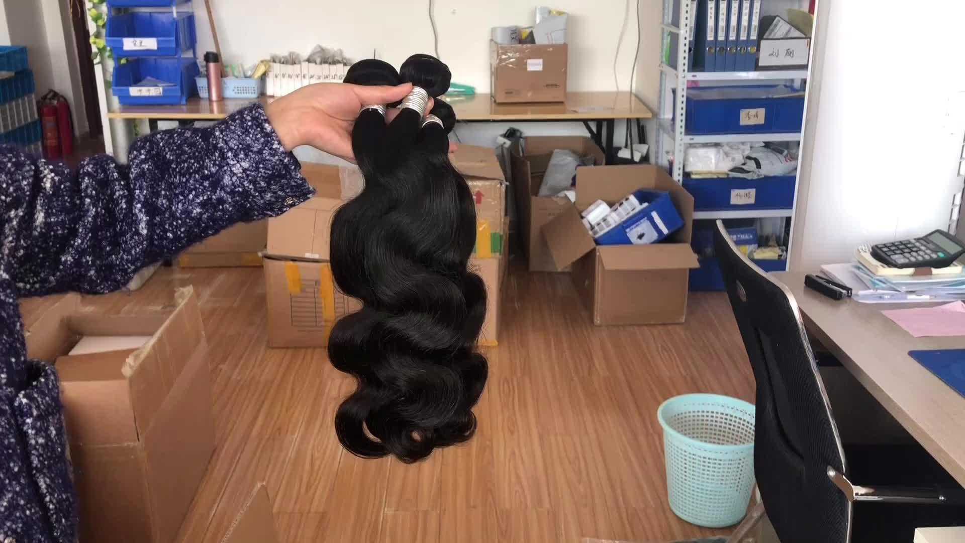 Nhà máy chưa qua chế biến bán buôn trinh nữ giá 10A lớp con người ấn độ tóc thô