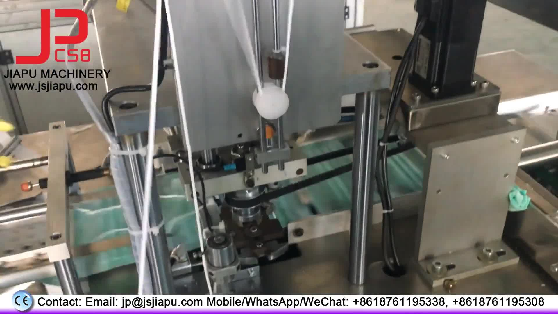 Hot Sale Fully Automatic Non Woven Surgical Face Mask Making Machine