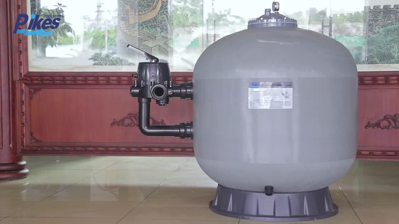 Approvisionnement d'usine haute pression à grand débit filtre à sable pour piscine spa piscine filtre à sable en vente