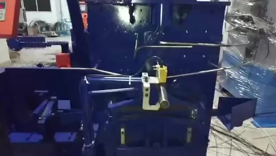 Automatic Clothes Metal Wire Hanger Making Machine from Guangdong