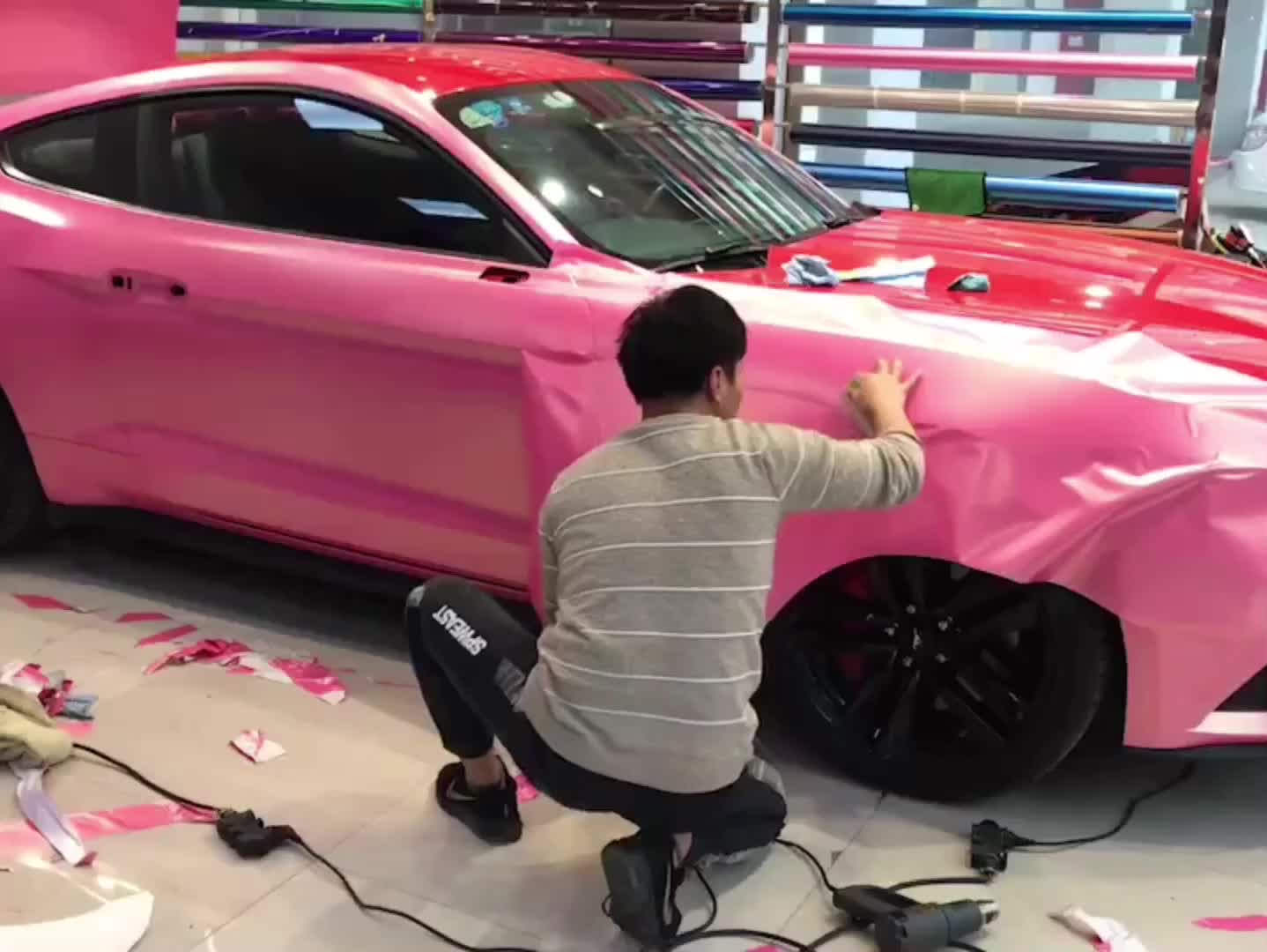 CARLIKE Stretchable Clear Car Body Gloss Auto-repaired TPH Paint Protective Stone Guard Film