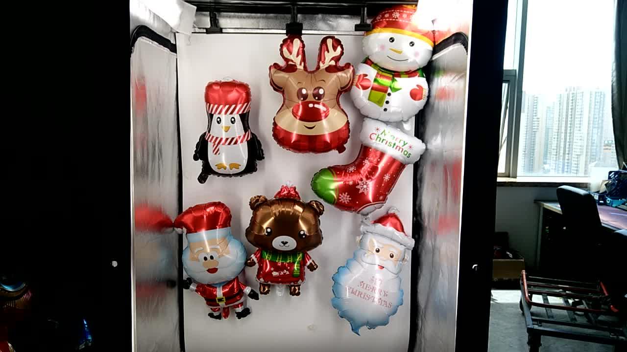 雪だるま形のヘリウムバルーンクリスマスパーティーの装飾用