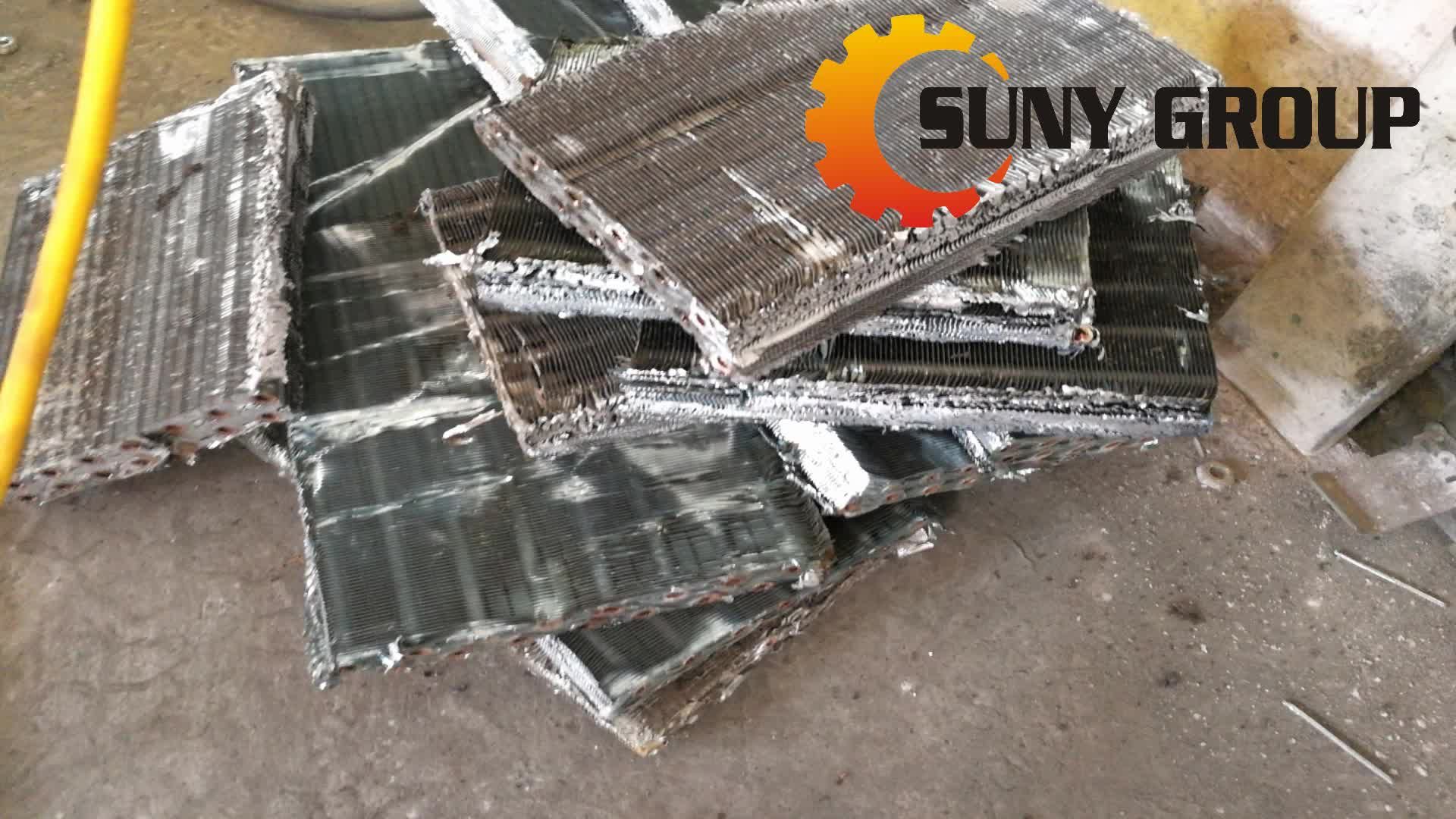 Scrap Air Conditioner Condenser Coil Recycling Machine