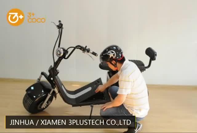 2019 new adulto elettrico citycoco scooter con CE