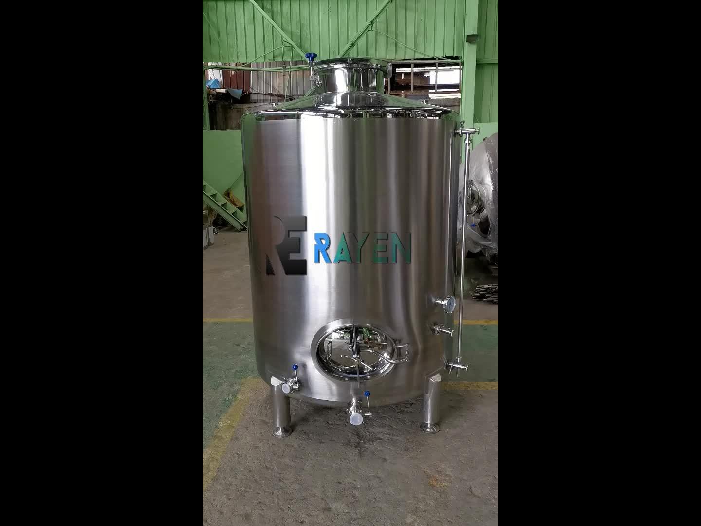 China fabrikant rvs wijn gisting apparatuur wijn maken tanks