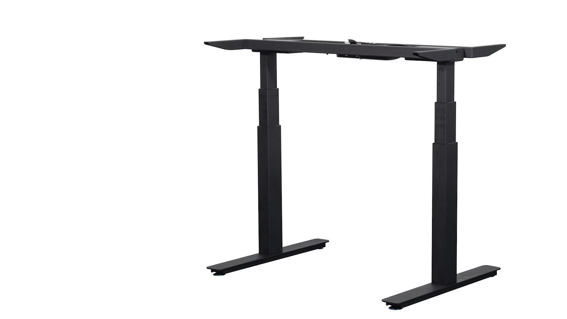 Popular style in European market height adjustable sit stand ergonomic desk