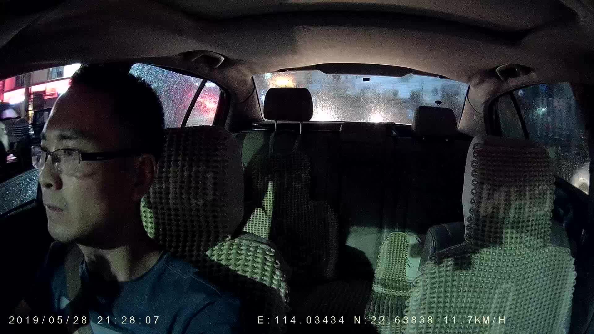 Eerste ontwerp fabriek prijs dual dash cam Voor en Achter Full HD 1080p met infrarood nachtzicht voor Uber taxi camera