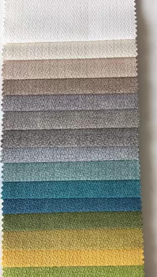 Cái nhìn tuyệt vời 100polyester cho bộ đồ giường 100 đồng bằng nhuộm vải lanh vải dệt kim