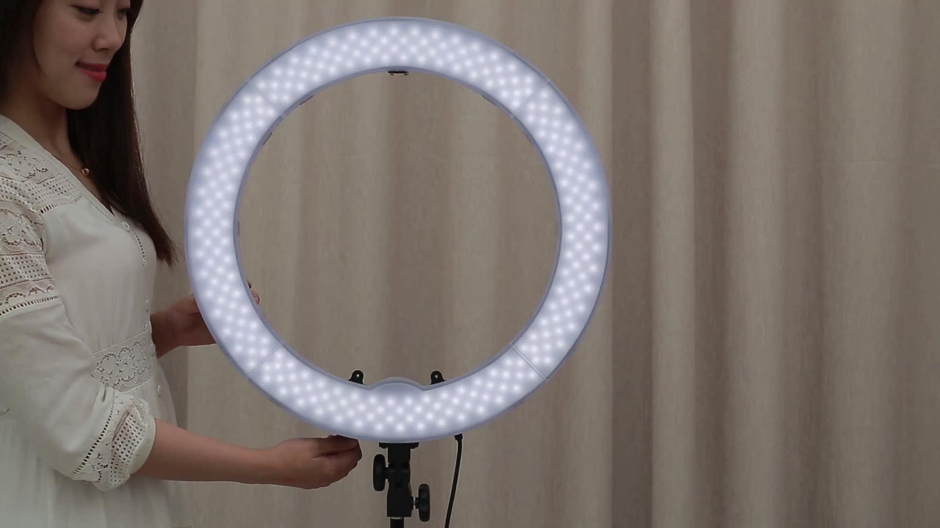 RL-18 Fotografie LED-Ringlicht Kit 5500K Selfie-Fülllichtpaket