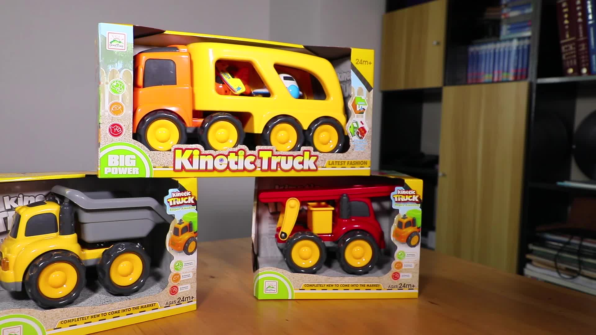 Good quality plastic friction toy vehicle monster truck toy with music