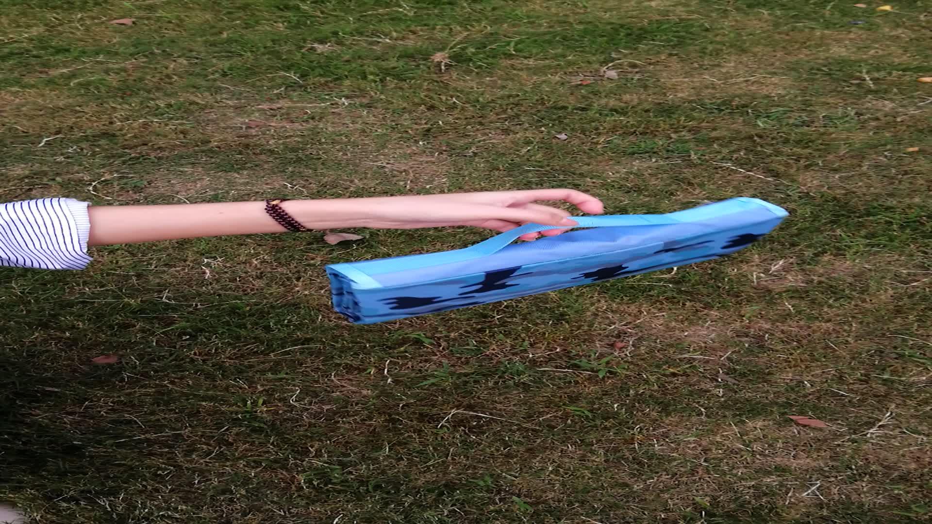 Aislamiento dormir Mat sombrilla plegable patrón impreso al aire libre alfombra de Picnic para los niños de Camping