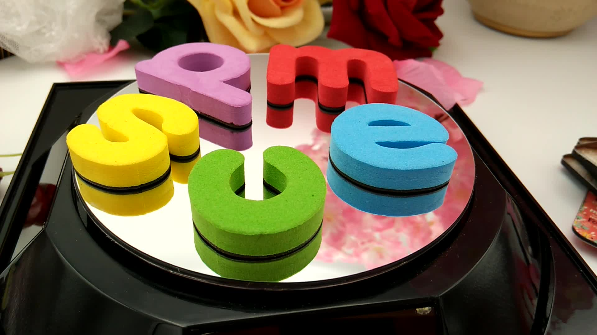 Factory Directly Sale Magnetic Alphabet Letters For Kids ABC EVA Fridge Magnet