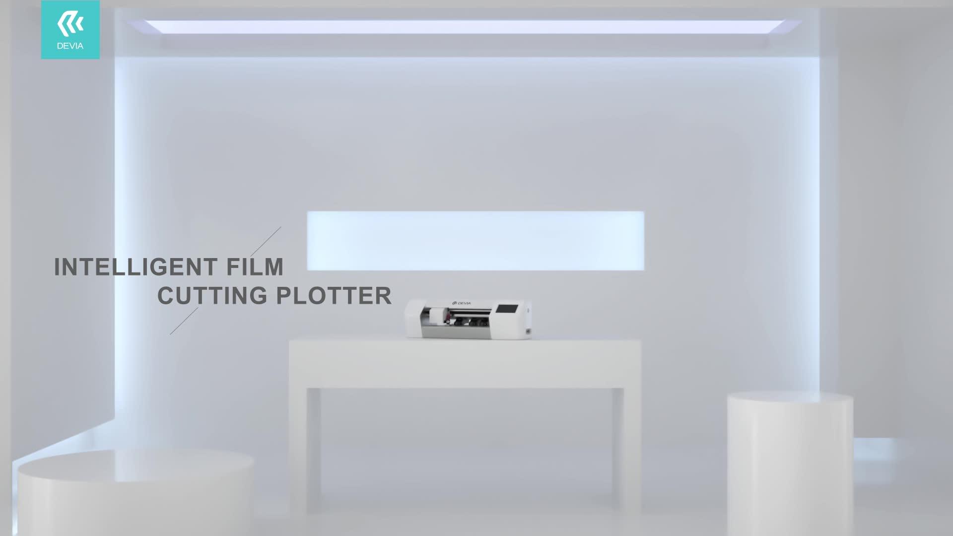 Kit di installazione pellicola protettiva Devia macchina taglio di abitudine temperato protezioni dello schermo in vetro