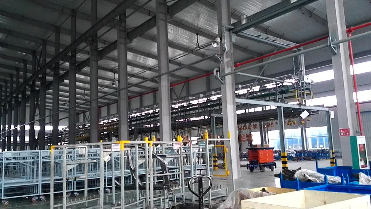 Suzhou HVLS industrial 20ft giant ceiling fan for warehouse