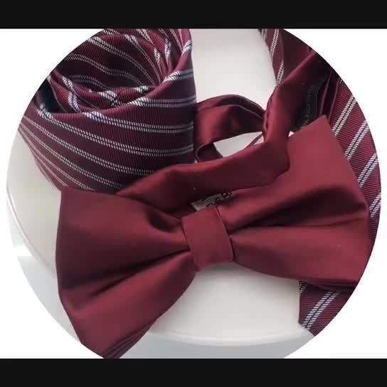New product Handmade wooden bow tie