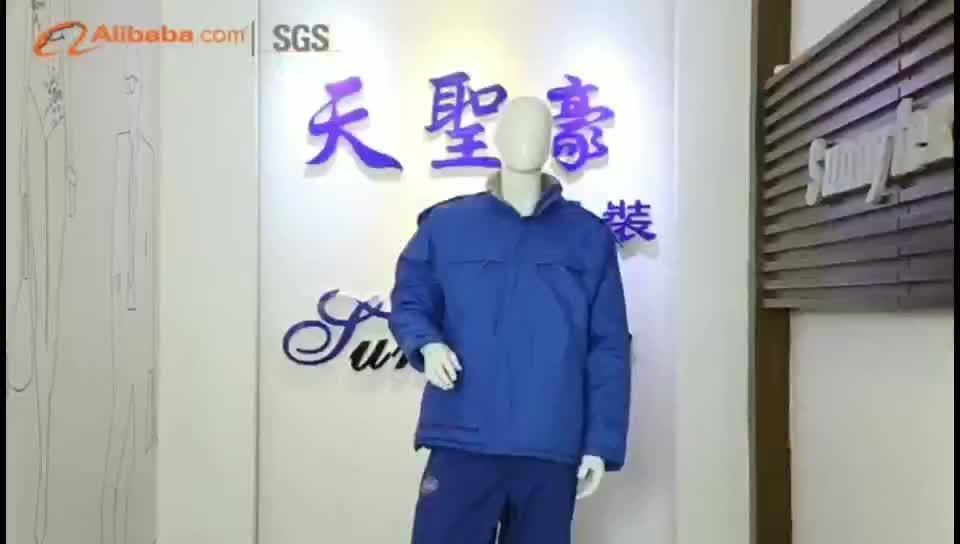 SUNNY TEX Winter Men Vest High Quality Pad Vest Best-selling  Winter Work Vest