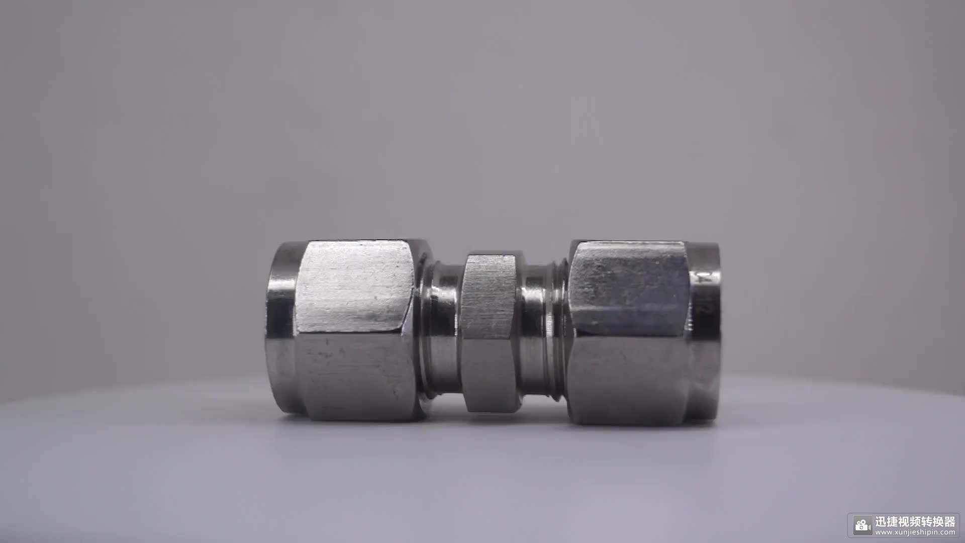 Stainless steel 316 1 inch compression bulkhead fitting