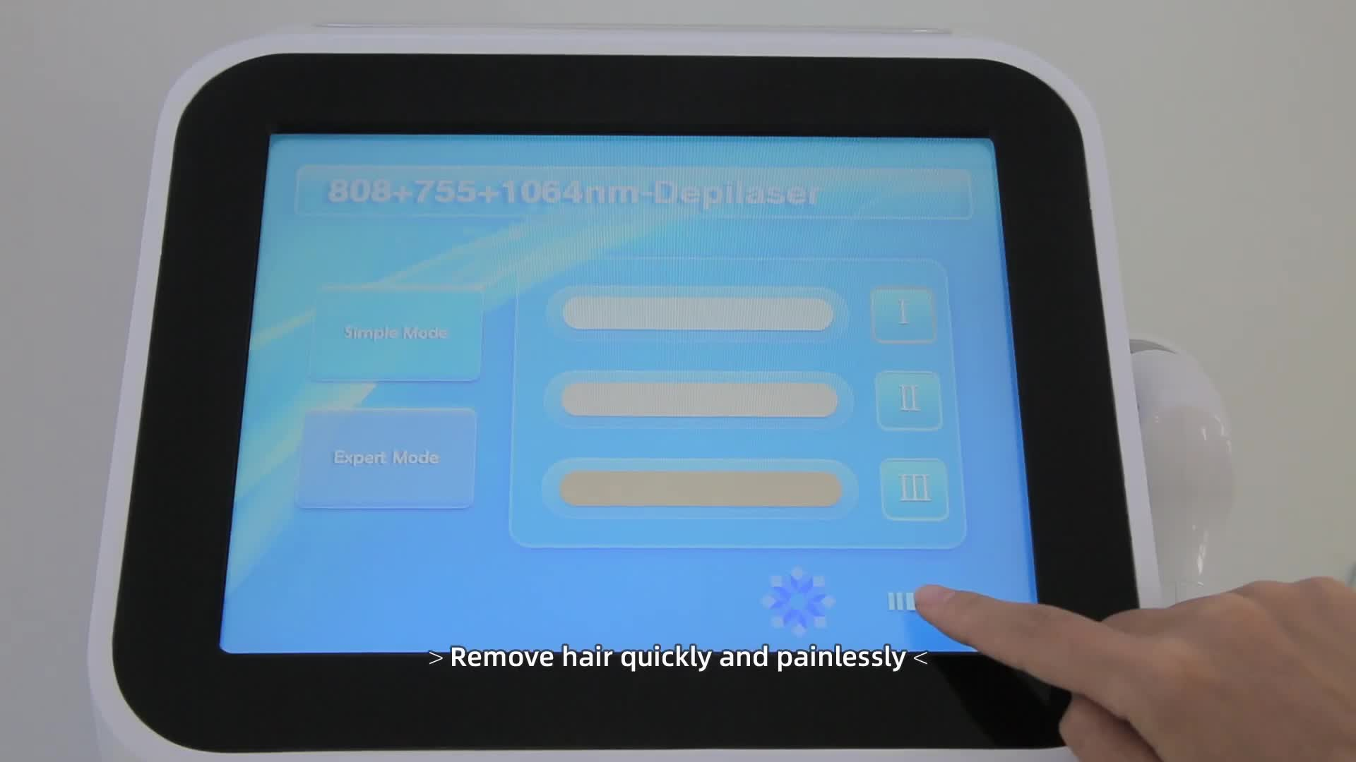 300W manufacturers of beauty salons use vertical 808nm diode laser hair removal machine