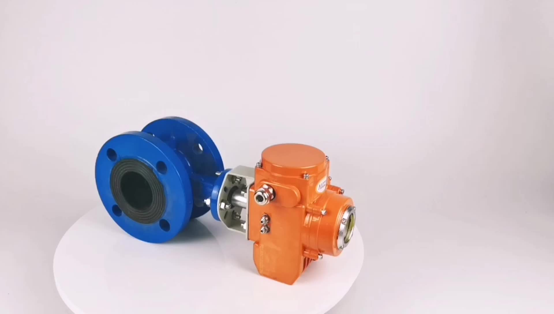 Industrial wireless remote rotary control valve actuator