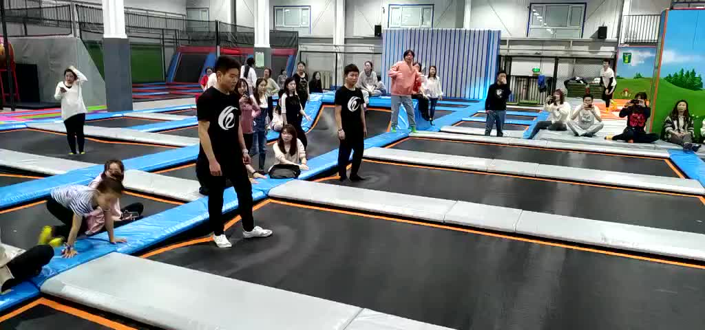 Wholesale Professional indoor playground systems/ amusement park trampoline