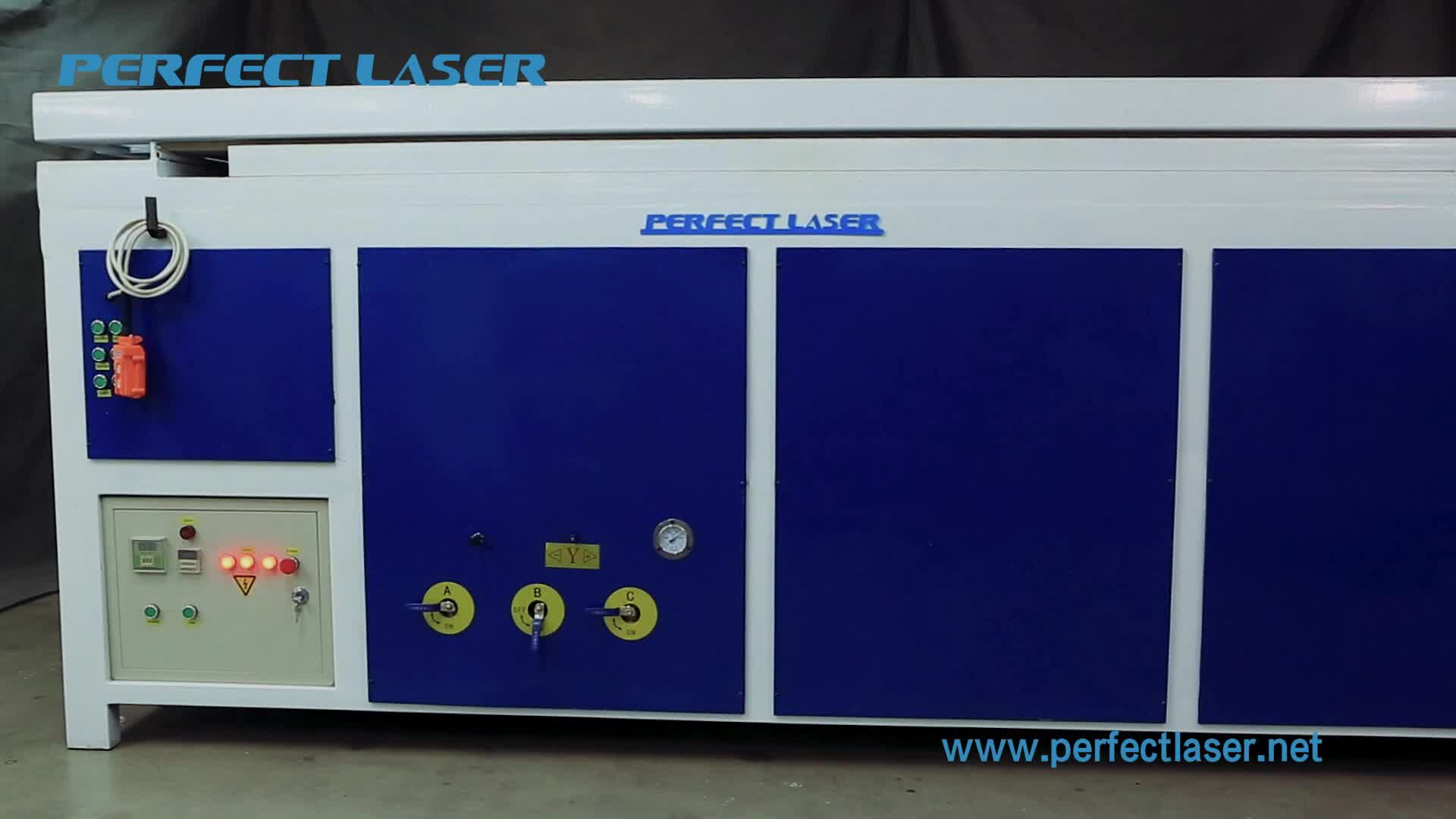 Perfect Laser Acrylic Vacuum Forming  Machine for Advertising Industry