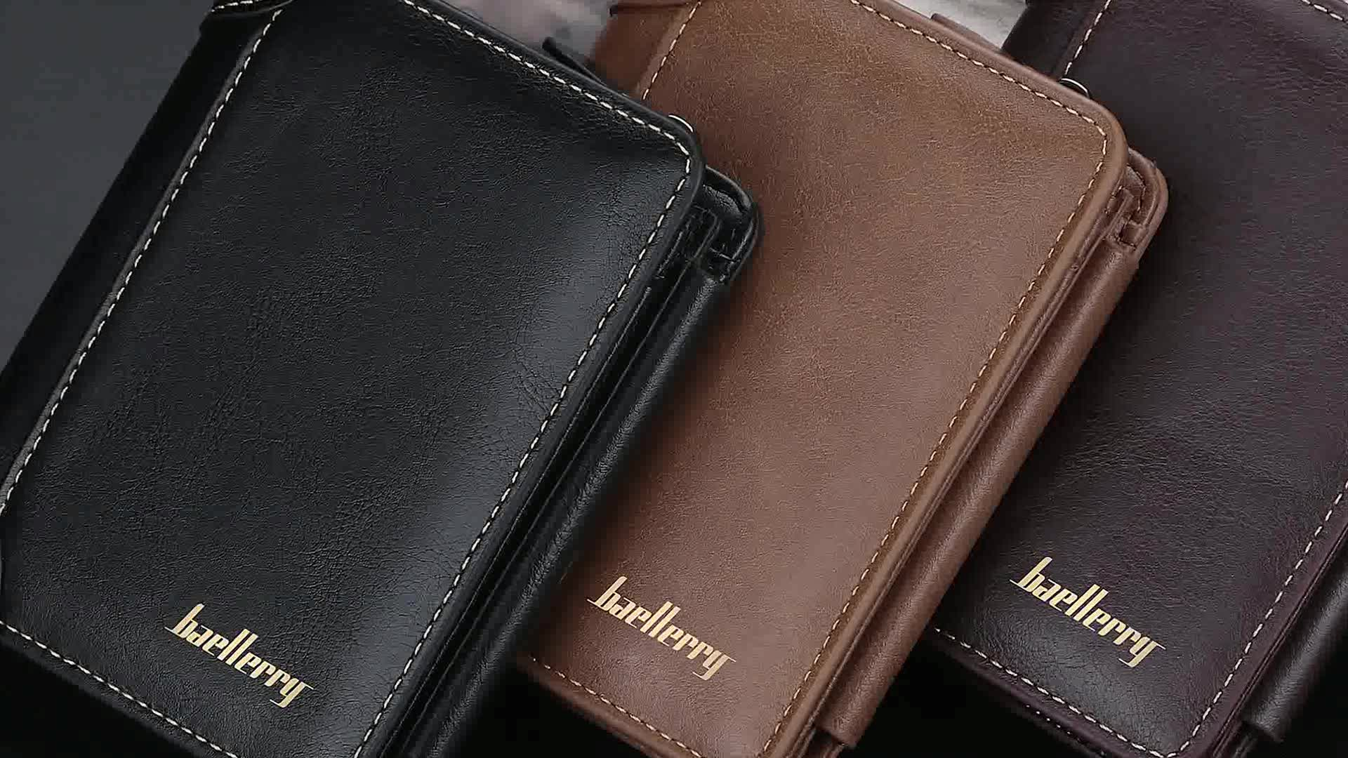 2019 New Style Baellerry Brand Large Capacity Multi-card positions Short Zipper Wallet For Men,Male Coin Purse Card Holder Case