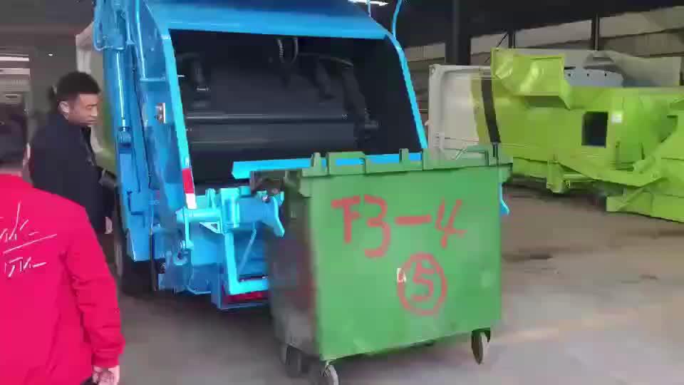 Dongfeng TIANJIN 4*2 compact vuilniswagen