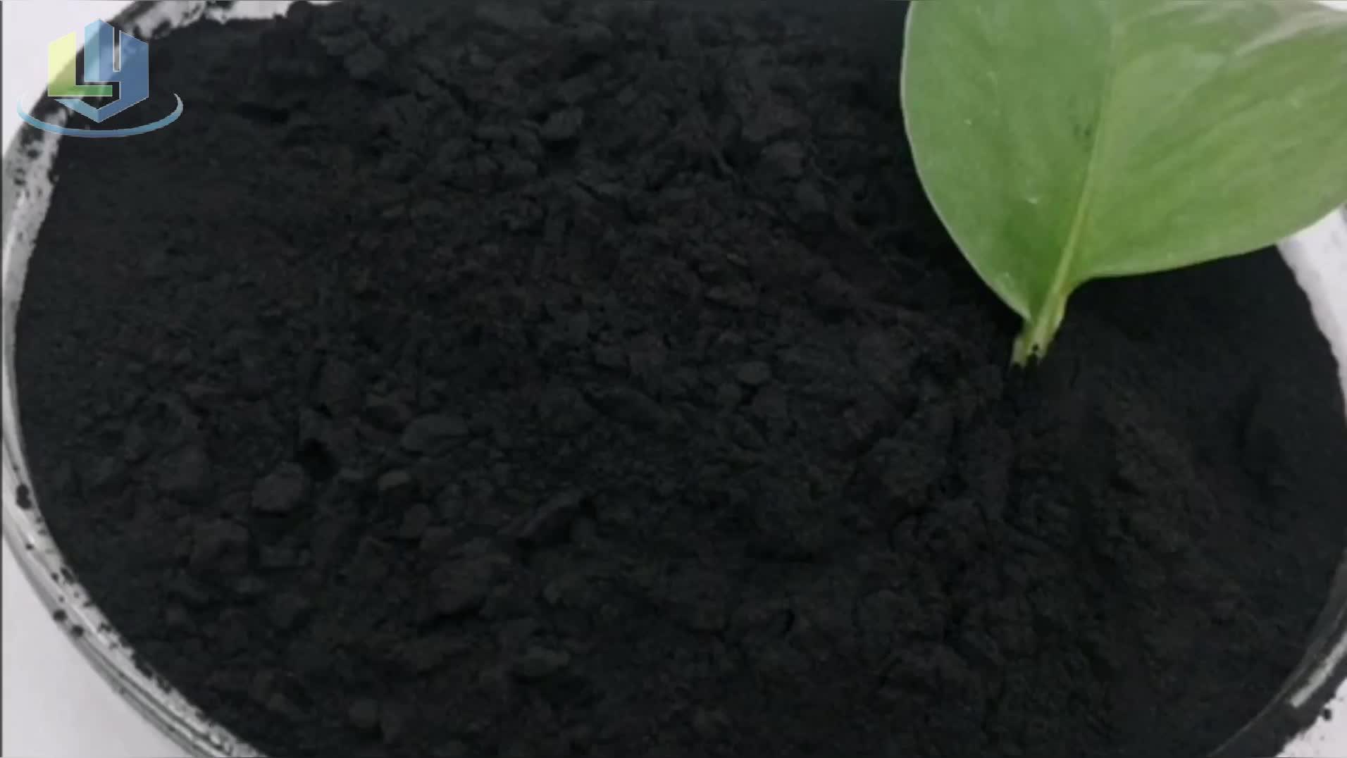Niedrigen preis Schwarz Pulver Aktivkohle Verwendet In Chemische Industrie