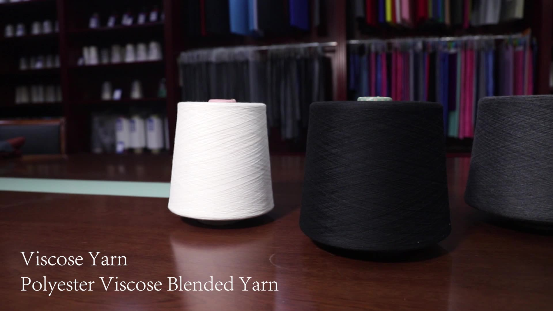 20S/2 poly viscose blended polyester viscose yarn for knitting