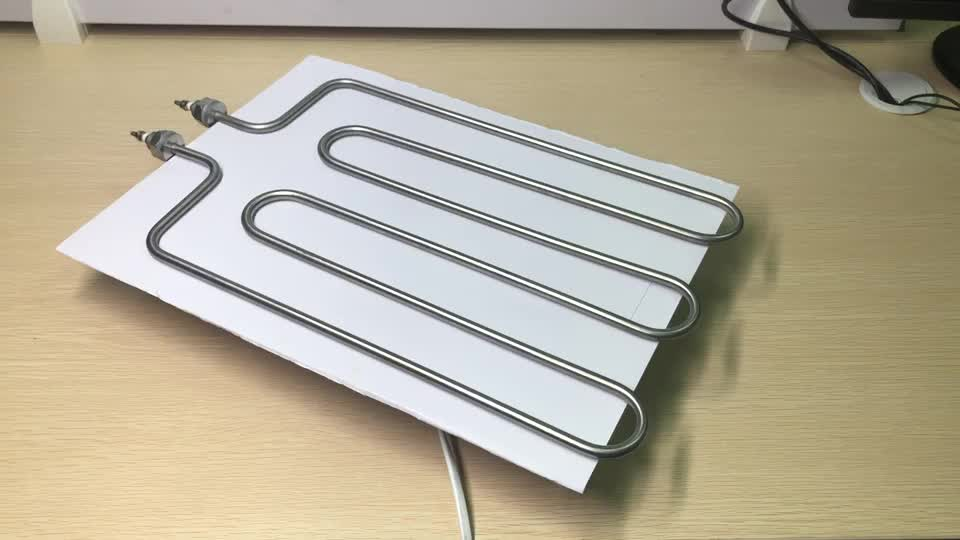 Stainless Steel Electric Heater Resistance Heating Elements For Electric Ovens