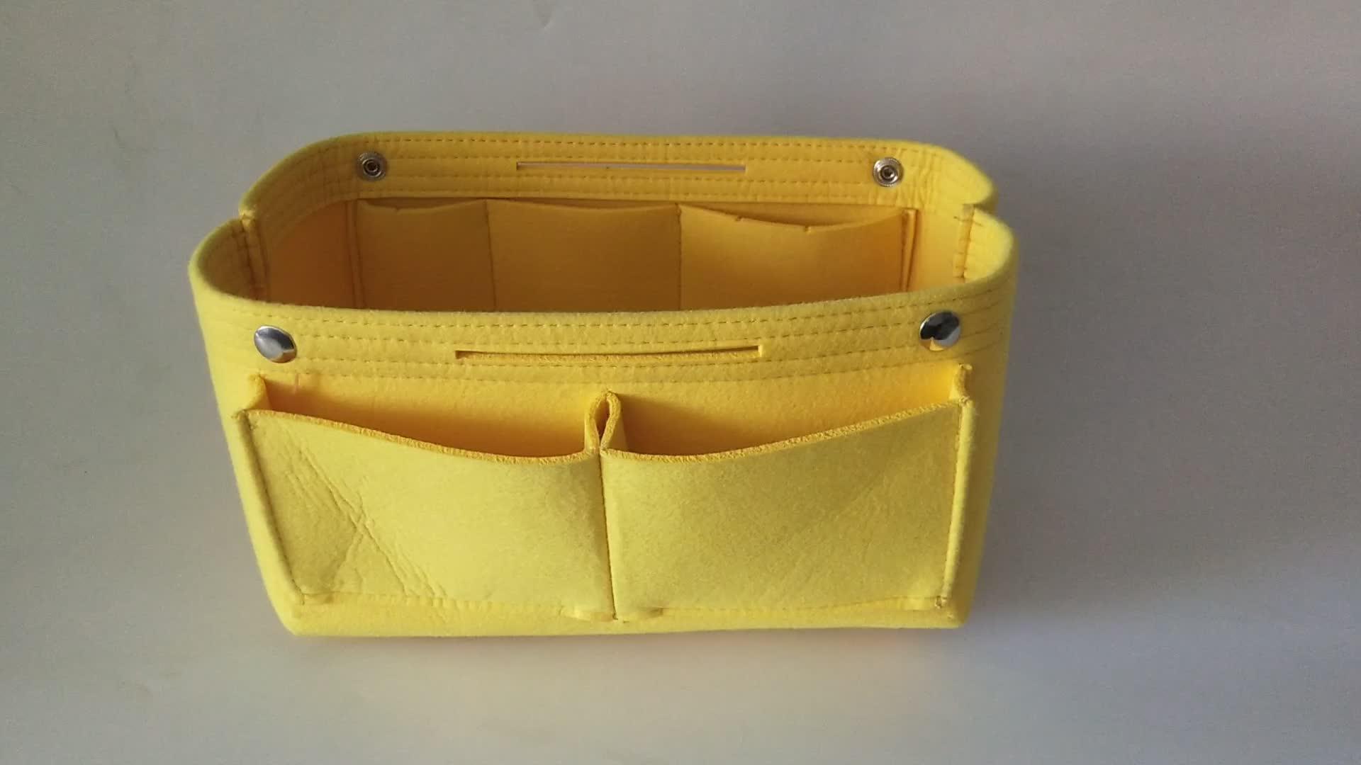 cheap felt purse handbag organizer for tote bag