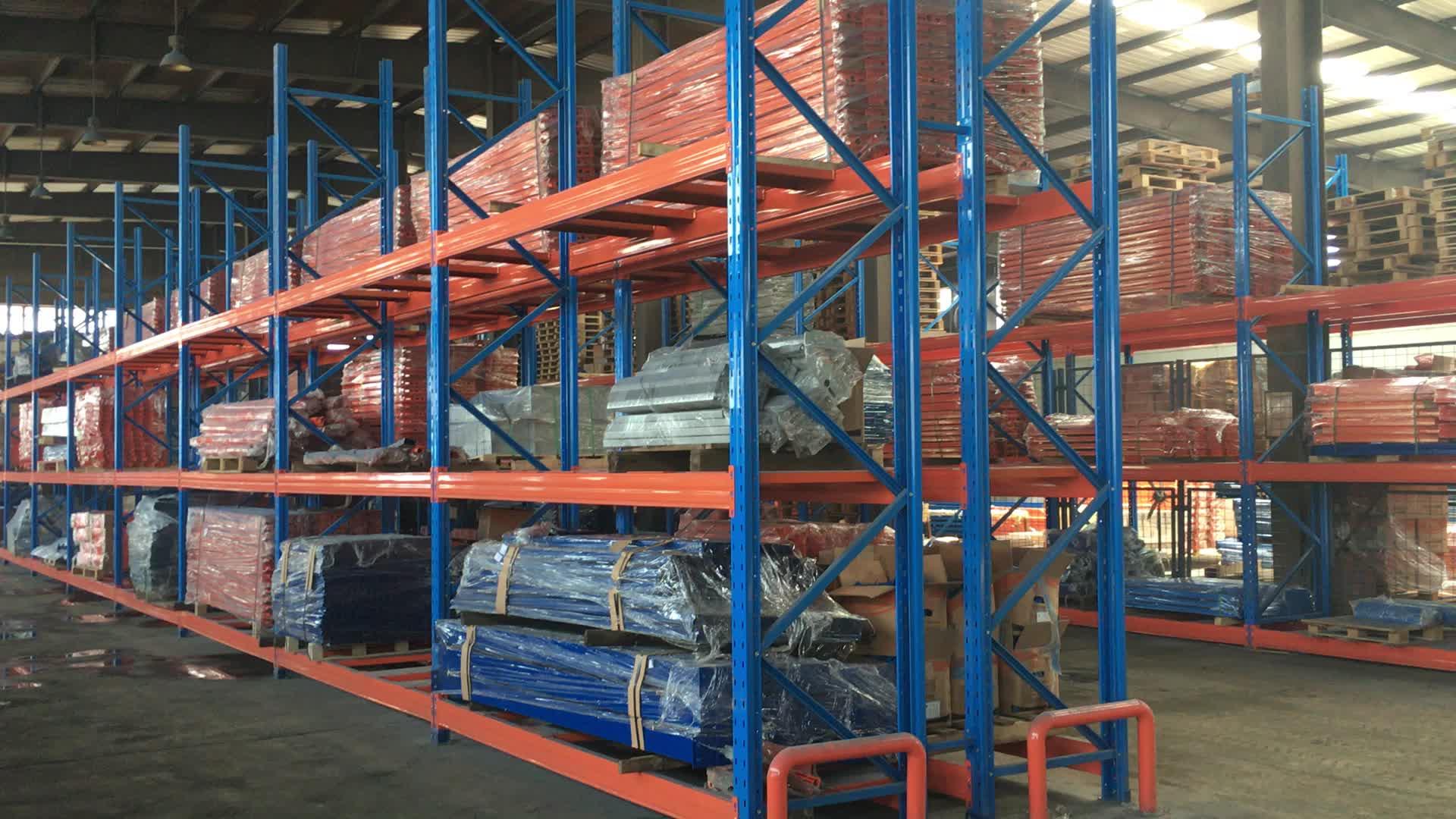 산업, 창고, 긁어 시스템 끌어 들여 사용 늘어나고 선택적 팔레트 창고 랙 유형 냉각 시스템