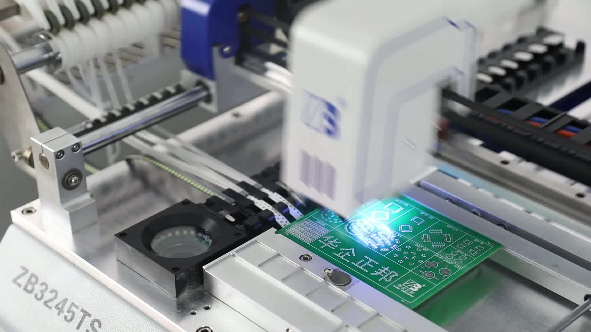 Máy tính để bàn smt pick và nơi máy dễ dàng hoạt động cao chính xác với autocorrection hệ thống cho PCB nguyên mẫu