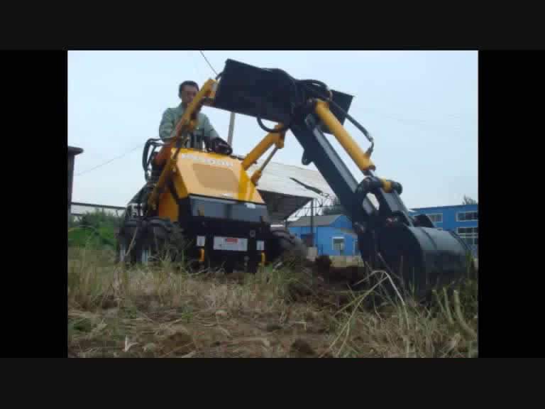 Hysoon cheap mini skid steer loader for sale