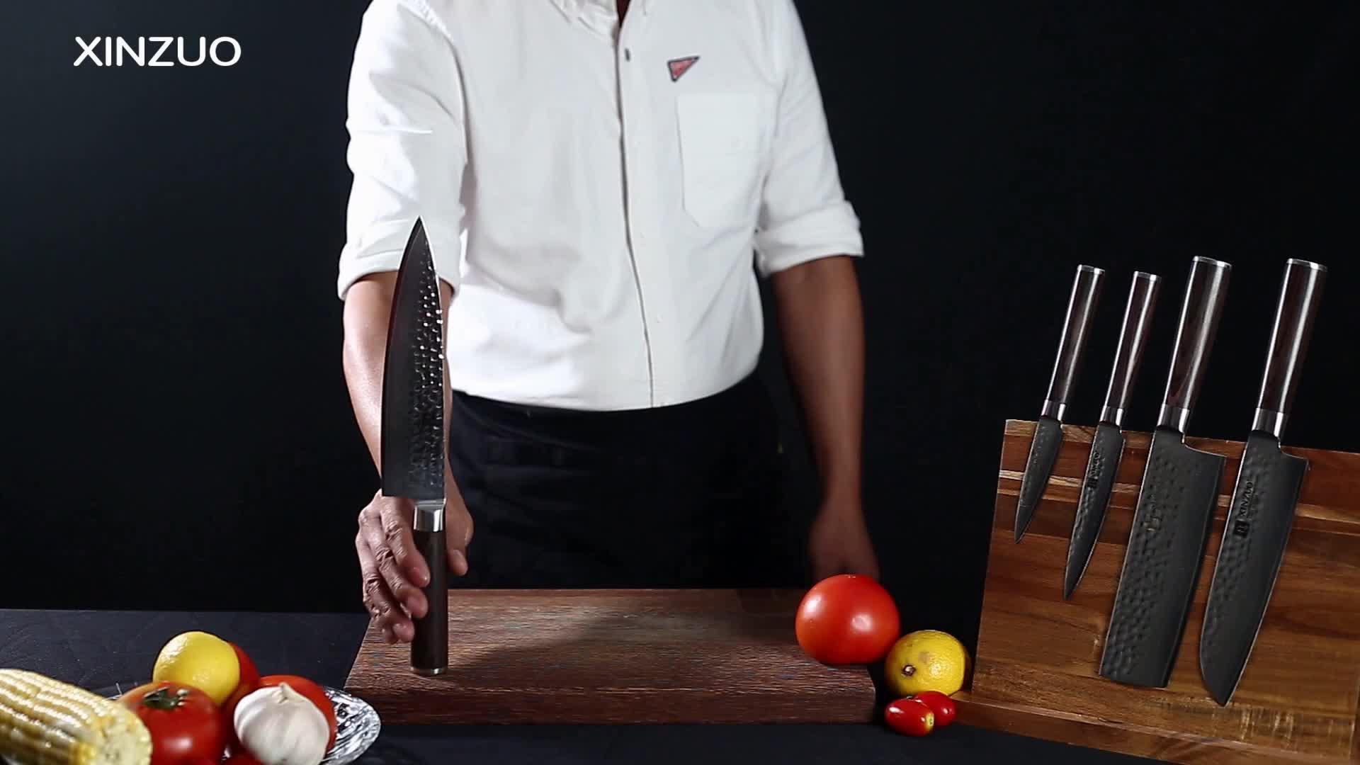 7 pcs पेशेवर 67 परतों जापानी दमिश्क रसोई के चाकू सेट